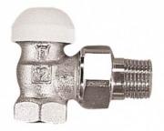 №1 Термостатический клапан ГЕРЦ-TS-90 угловой