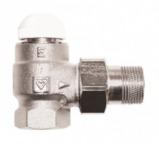 №1 Термостатический клапан ГЕРЦ-TS-E угловой